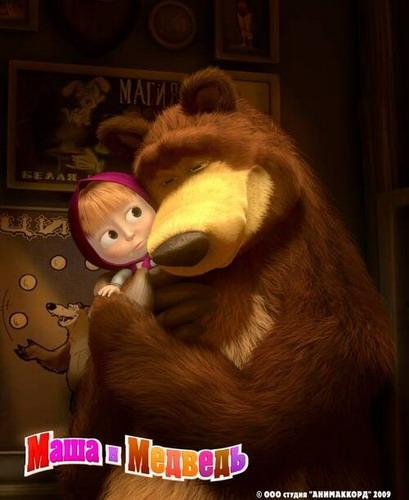скачать бесплатно Маша и медведь (все 10 серий) смотреть онлайн